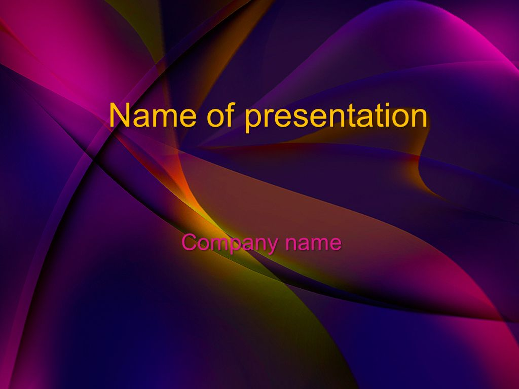 Purple Dream Powerpoint Template Powerpoint Templates Free Powerpoint Presentations Powerpoint Template Free Ms office power point themes