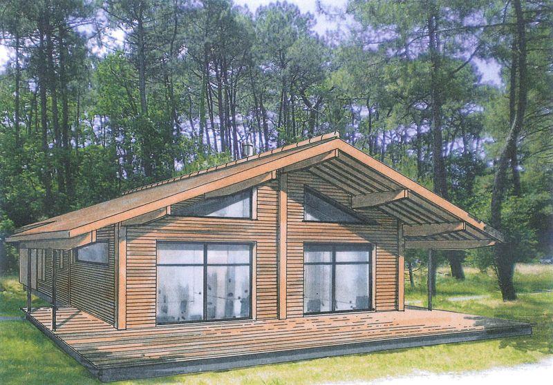 aquitaine maison bois ventana blog. Black Bedroom Furniture Sets. Home Design Ideas