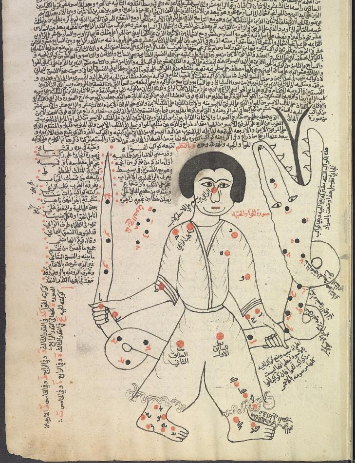 ṣuwar Al Kawakib صور الكواكب Creator ṣufi ʻabd Al Raḥman Ibn ʻumar 903 986 صوفي عبد الرحمن بن عمر Origin 1607 Ac Black Magic Book Magic Book Sufi