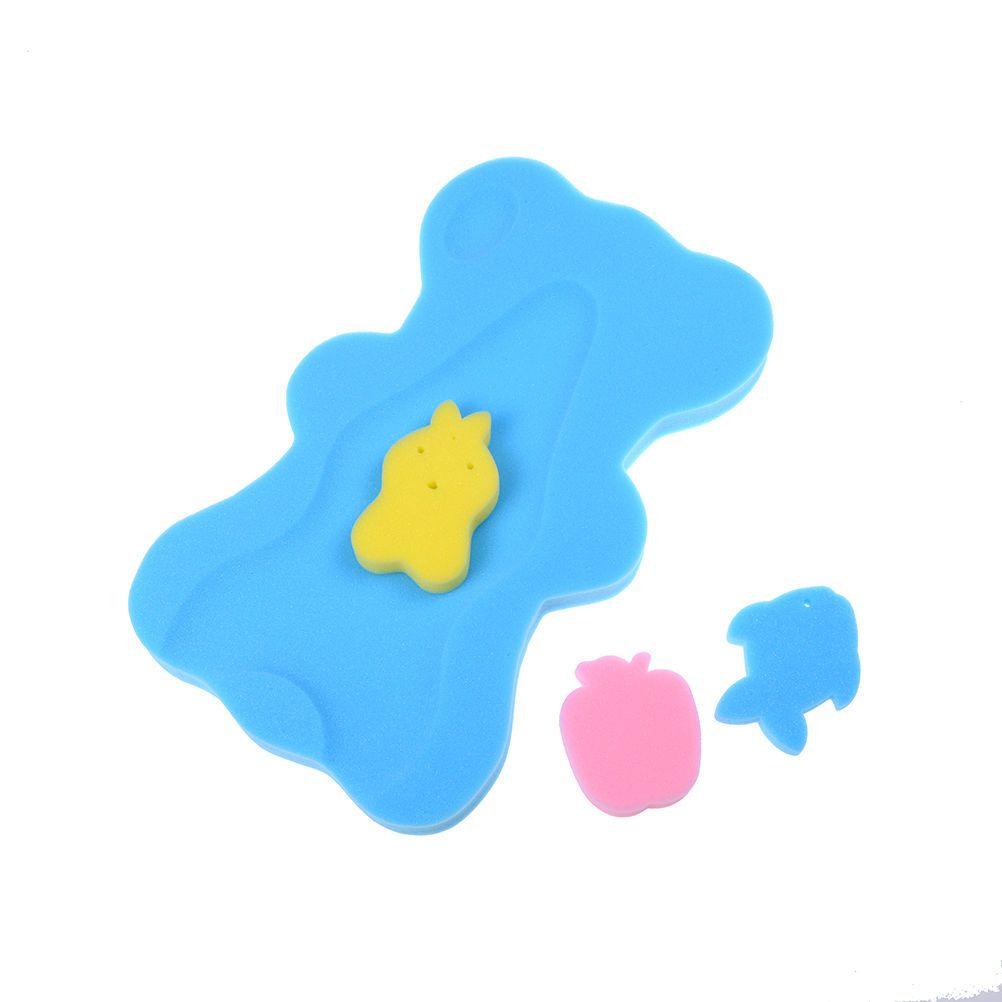 Bath Sponge Support Safety Aid Bathing Mat Foam Non-Slip Cushion for ...