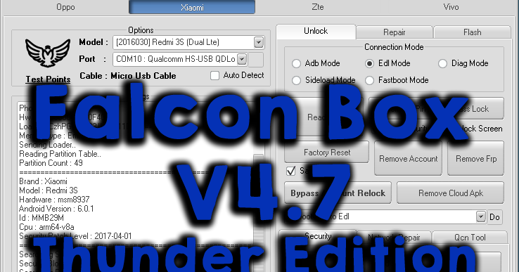 DownloadMiracle Falcon Box V4 7 Thunder Edition Feature: []Generic