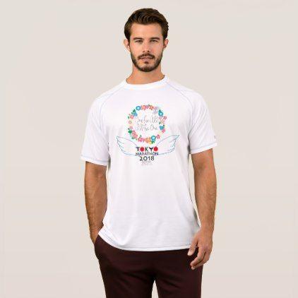 Green BigCity TOKYO MARATHON 2018 T-Shirt - americana sportswear