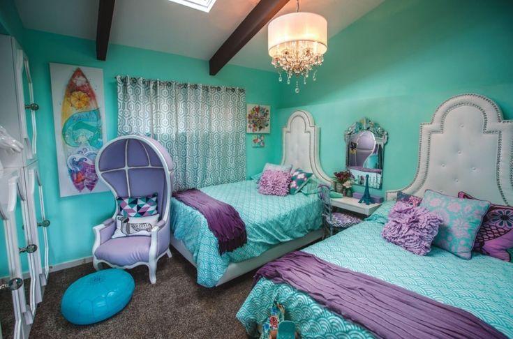 51+ superbes idées de chambres turquoise pour rafraîchir votre maison, #Freshen #Home #ideas #livingroo …