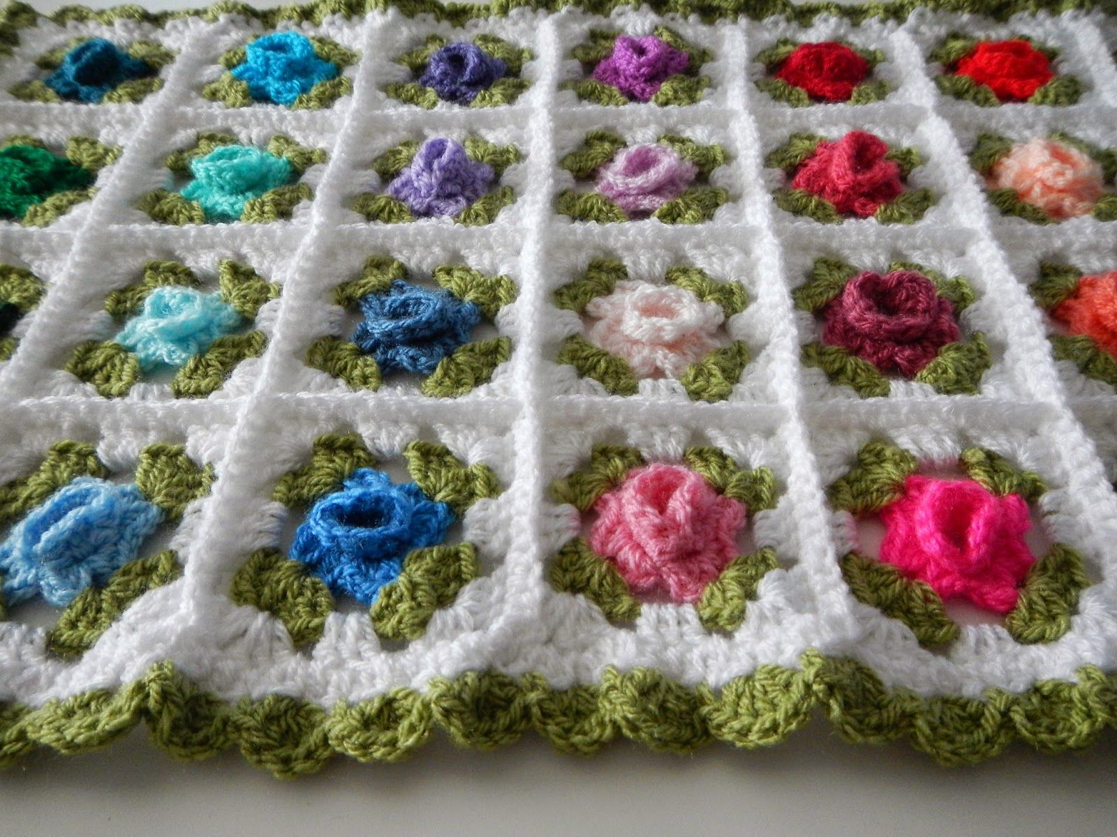 Shhhhhhh...Bunny Rose Blanket (Apple Blossom Dreams) | Blanket ...