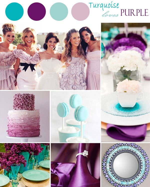 20 Ideas For Color Schemes: Wedding Color Combinations On Pinterest