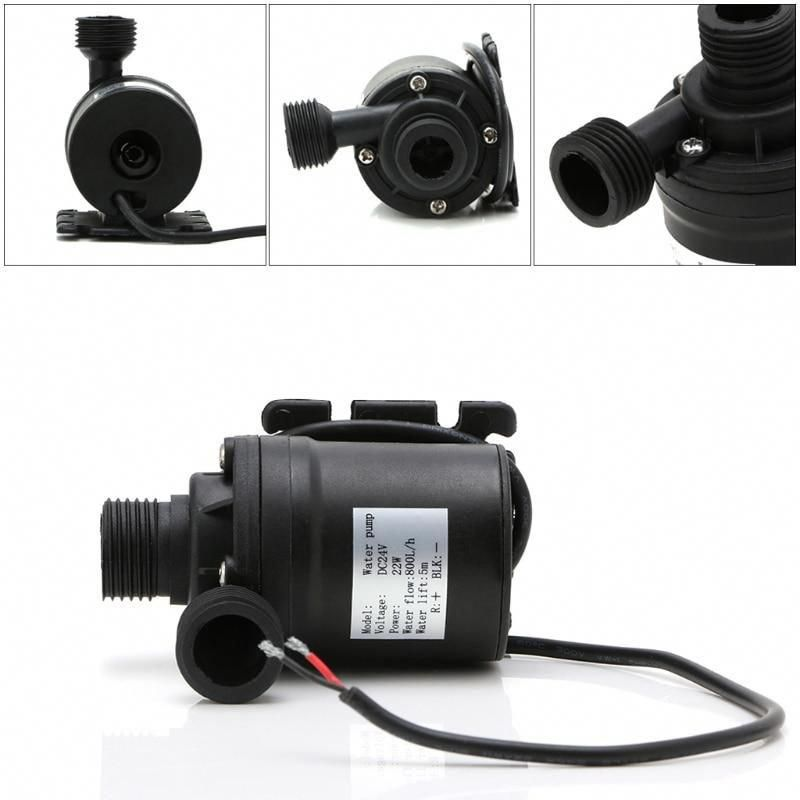 800l H 5m Dc 12v 24v Solar Brushless Motor Water Circulation Water Pump Yesterday S Price Us 7 72 In 2020 Heat Pump Water Heater Solar Water Heater Solar Water Pump