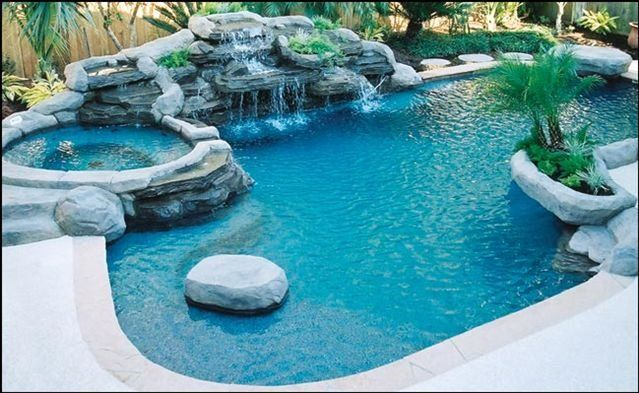 Inground Swimming Pool Designs Ideas With Patio Design Style