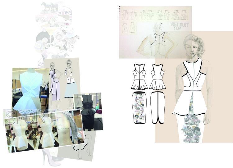 Portfolio Lydia Rose Carter Illustration Fashion Design Fashion Painting Fashion Sketchbook