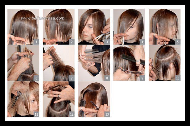 Corte para cabello fino y lacio