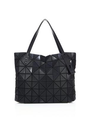 BAO BAO ISSEY MIYAKE Rock Matte Square Tote.  baobaoisseymiyake  bags  hand  bags  polyester  nylon  tote   2009a816bcee3