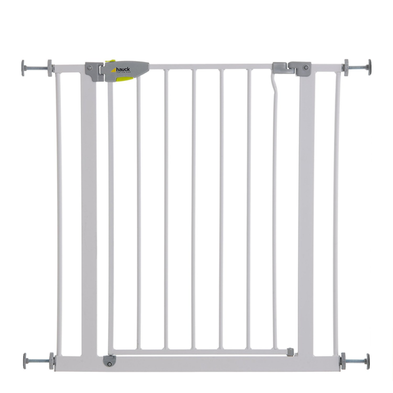 Hauck Squeeze Handle Pressure Fix Safety Gate White