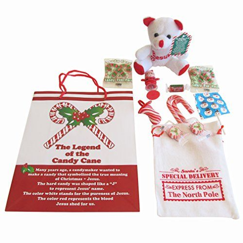 christmas gift set for kids the legend of the candy cane theme 1 - Hard Candy Christmas Meaning