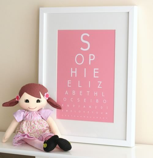 Eye Chart Maker Make Your Own Eyechart Art To Print At Home