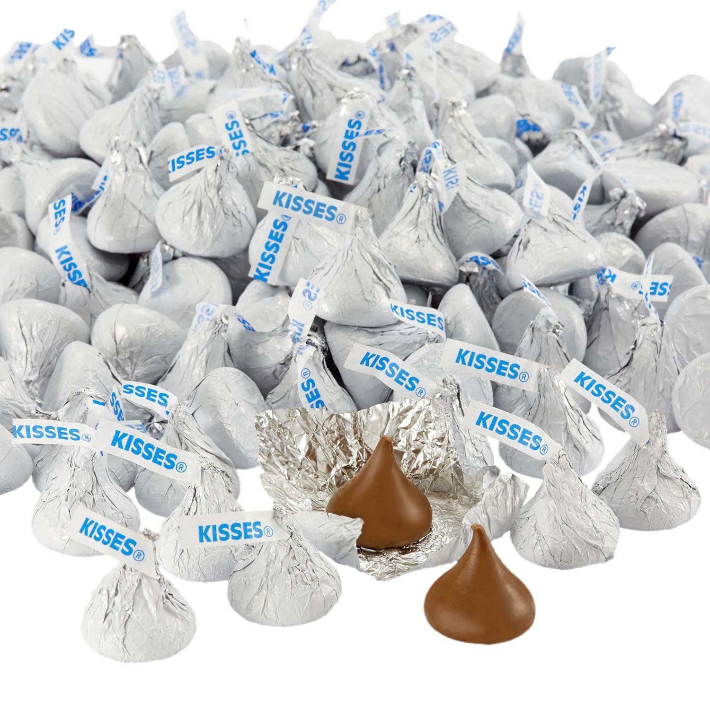Hersheys Kisses Chocolate Candy White 4 1 Pounds Bulk Candy