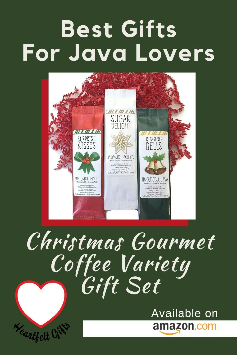 Christmas gourmet coffee variety gift set! Best gifts for