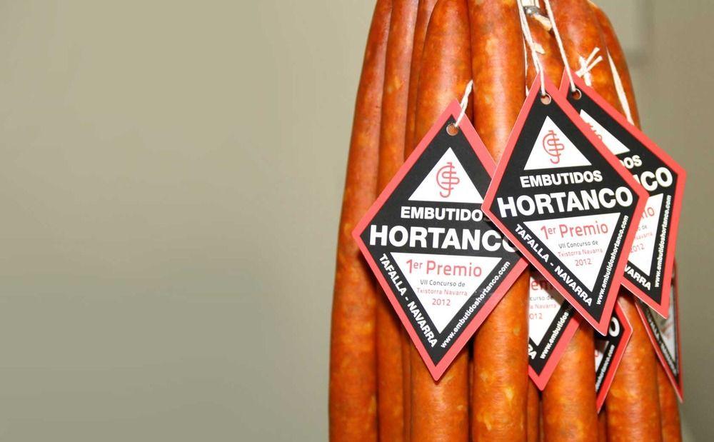 Chistorra de embutidos Hortanco.  Info: http://pantori.es/ofertas-recientes/257