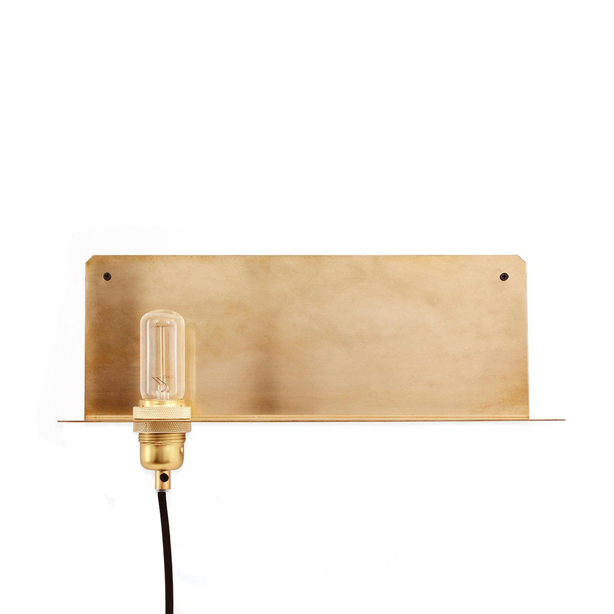 90-Degree Wall Lamp | Small space design, Small shelves and Degree angle