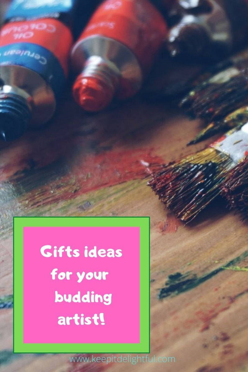 Check out these great gift ideas for the little artist in your life! #giftsforkids #kidart
