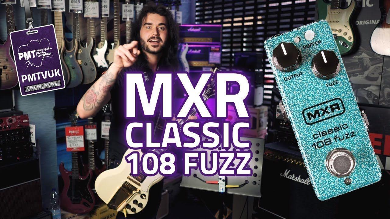 MXR Classic 108 Fuzz Mini Guitar Pedal Review - Vintage Fuzz Goodness!