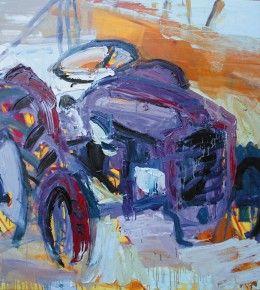 #farm #tractor #painting #portrait #art #contemporaryart #modernart #work
