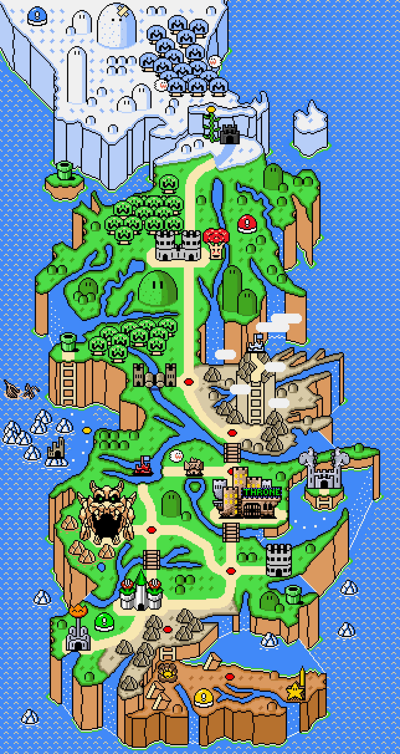 Brilliant Spoofs of the Classic Fantasy Novel Map | 912