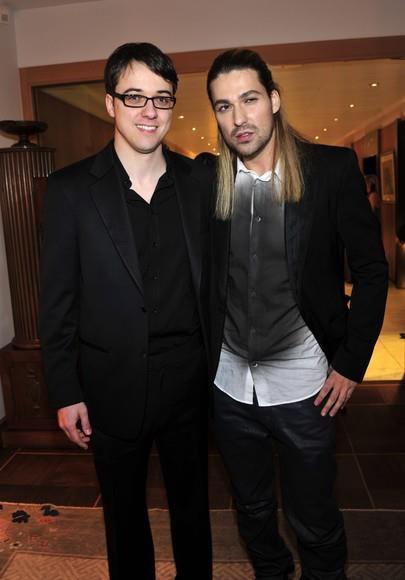 David and his bro.
