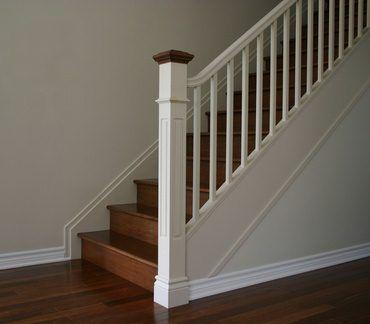 Rampe d 39 escalier stairs pinterest rampes escaliers for Rampe bois escalier interieur