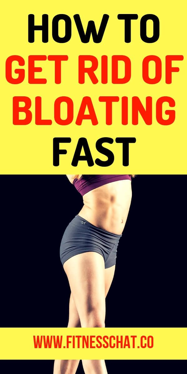 How to get rid of belly bloat once and for all