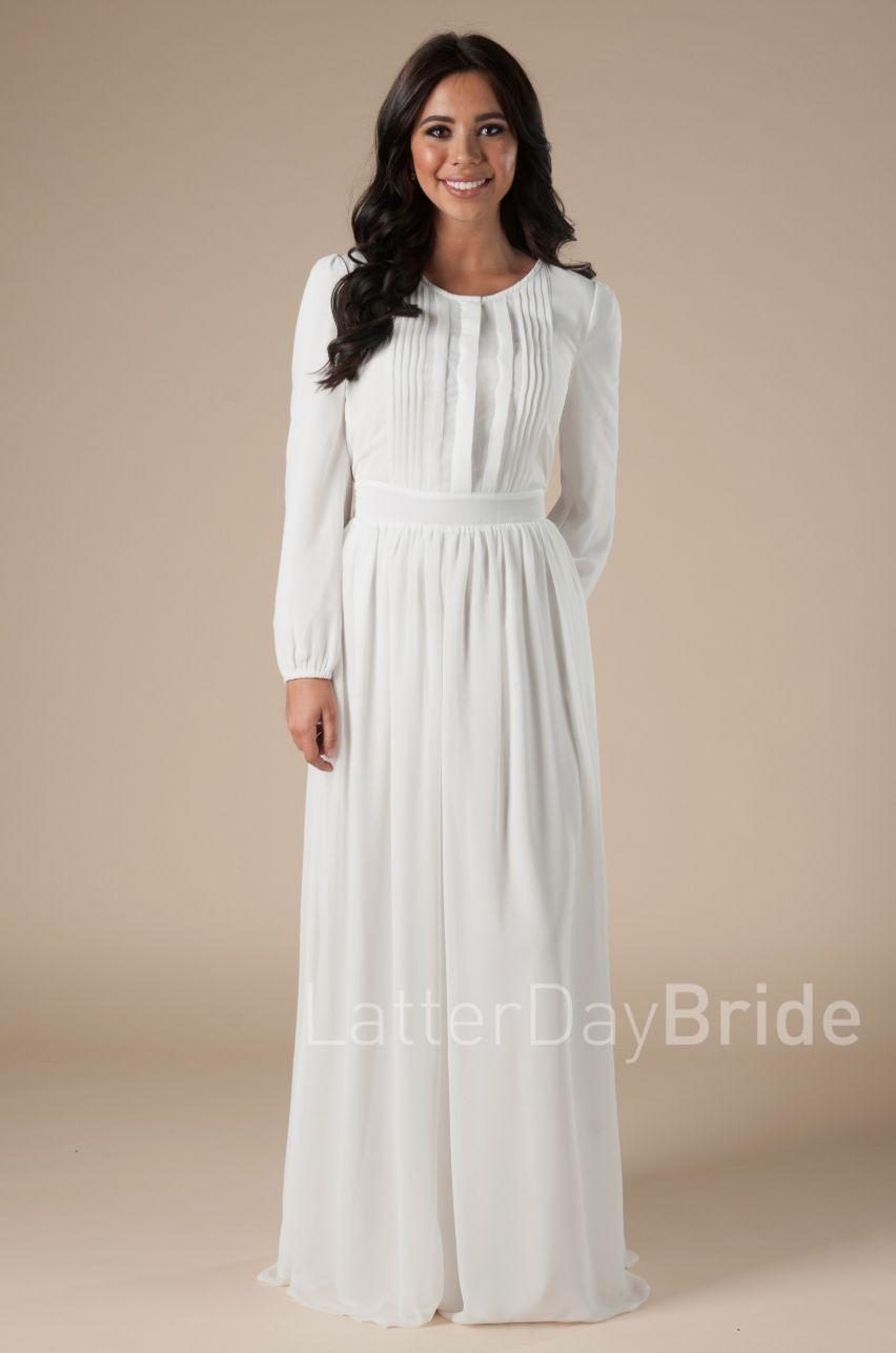 Rome Final Sale Temple Dress Bridesmaid Dresses With Sleeves Modest Dresses [ 1286 x 852 Pixel ]
