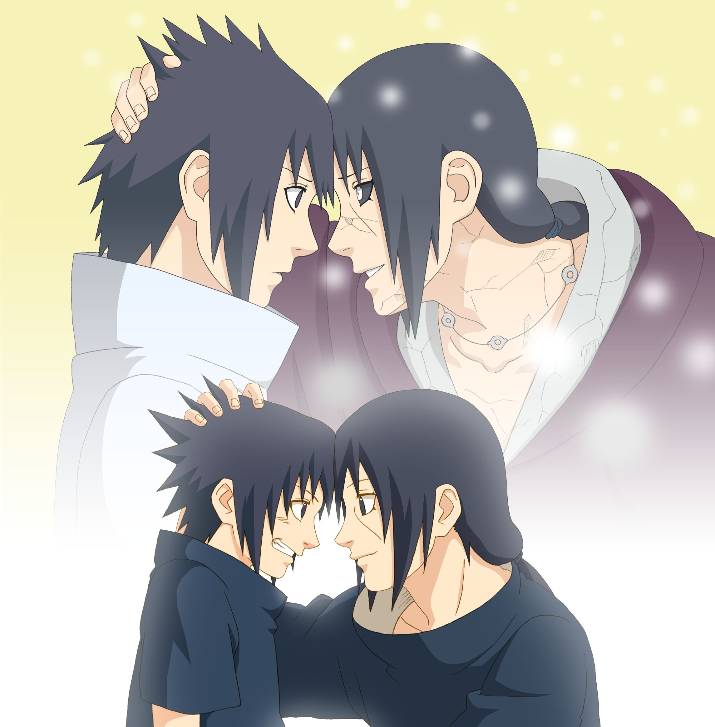 Uchiha brothers Sasuke and Itachi http//www.zerochan