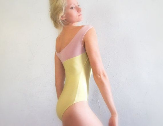 2f61471f9 I would never buy a yellow leotard but this one is gorgeous