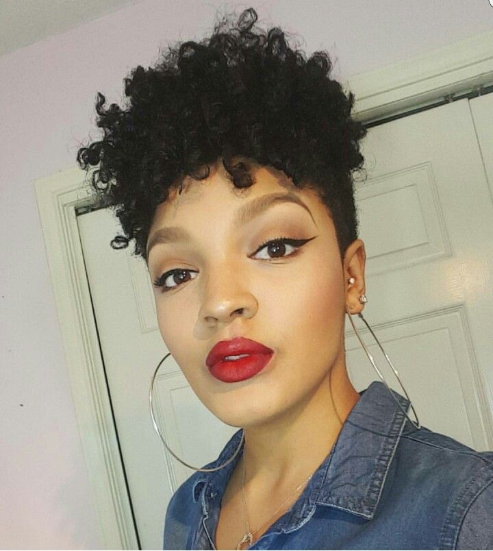 Tapered Cut MissAlexandriaNicole Natural Hair Styles