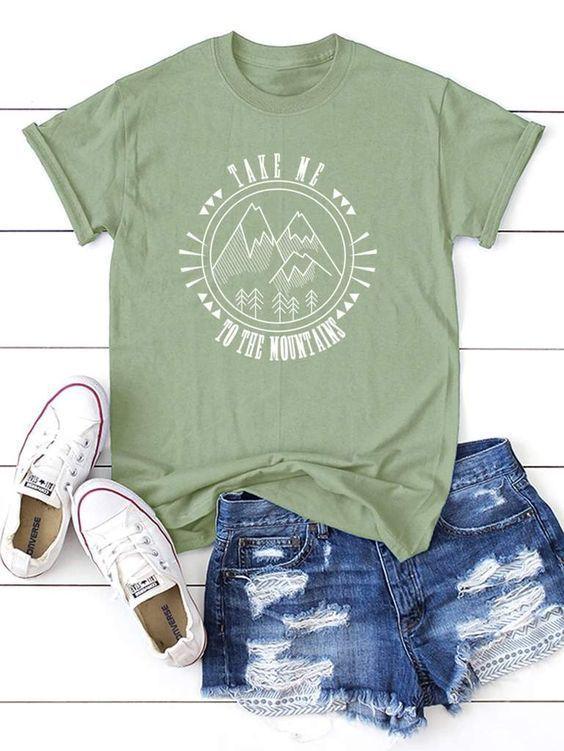 Lléveme a la montaña camiseta ZK01
