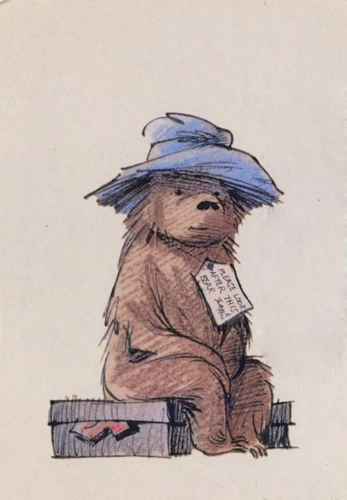 paddington bear by fred banbery in 1958 michael bond wrote the first in a series of books for. Black Bedroom Furniture Sets. Home Design Ideas