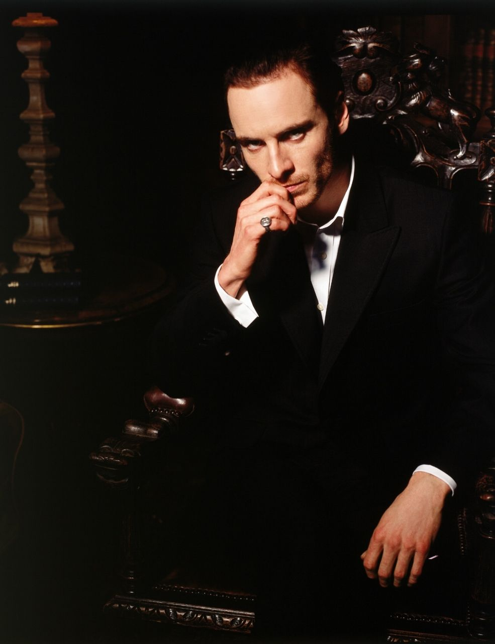 Michael Fassbender as fallen angel Azazeal on HEX. SO glad he's finally getting recognition for his acting. Been waiting since this show came out...