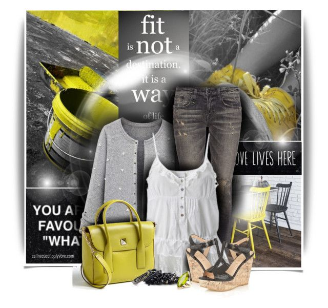 """""""Love Lives Here ..."""" by celinecucci ❤ liked on Polyvore featuring Dingo, R13, Kate Spade, Lipsy, Pieces and Forzieri"""