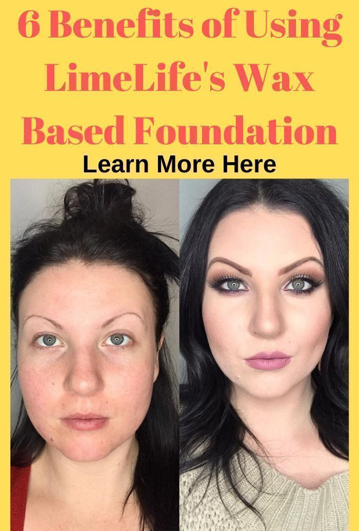 6 Benefits of Using LimeLife's Wax Based Foundation in