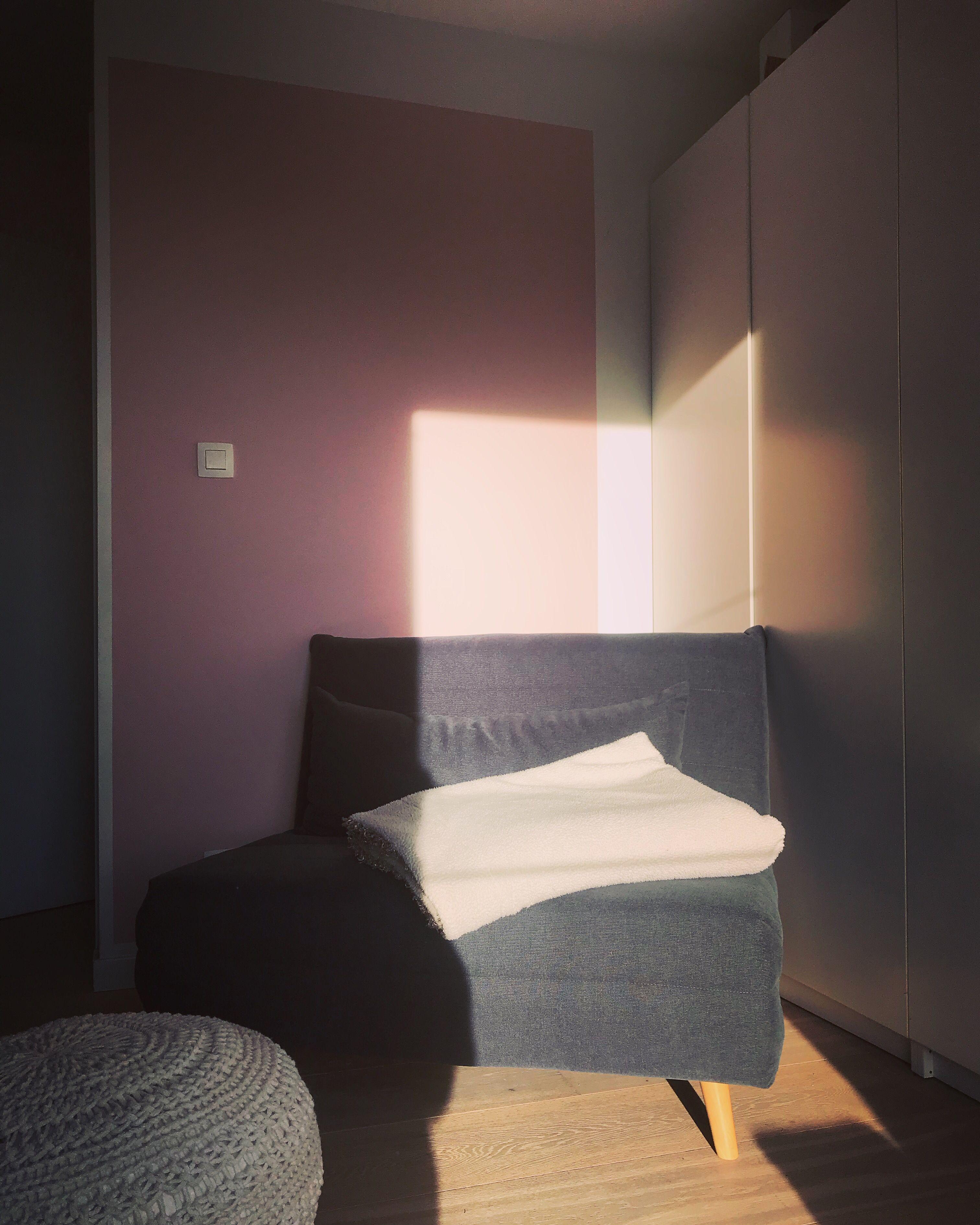 Salon, deco, gris, rose poudre, parquet blanchi | Deco projet ...