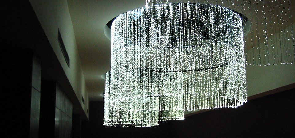 Large fiber optic chandeliers light and shadow pinterest fiber large fiber optic chandeliers aloadofball Image collections