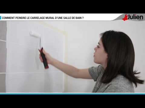 Comment peindre le carrelage mural du0027une salle de bain ? - Peintures