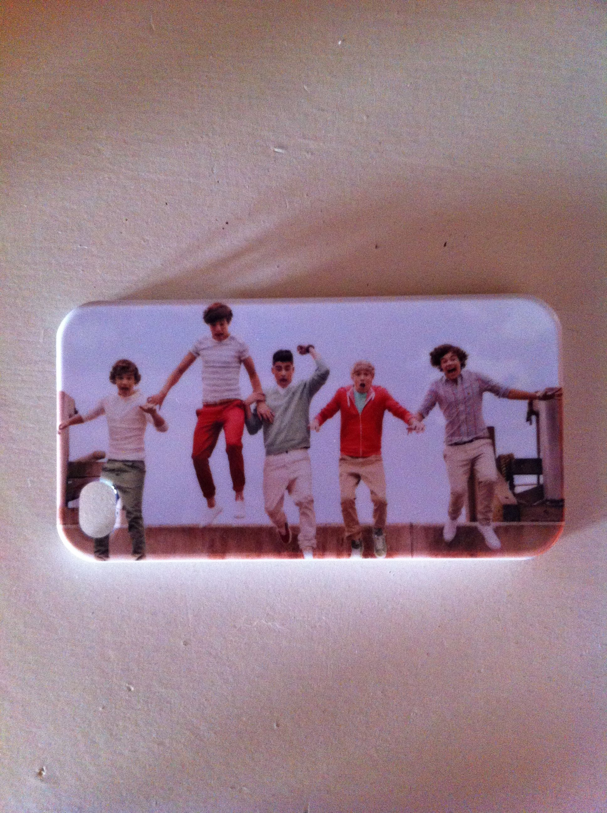 My one direction phone case!!!!