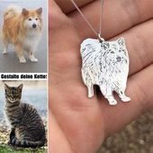 Photo of 🐶Personalize now! 🐱 🐶🐱Design your unique necklace now! …