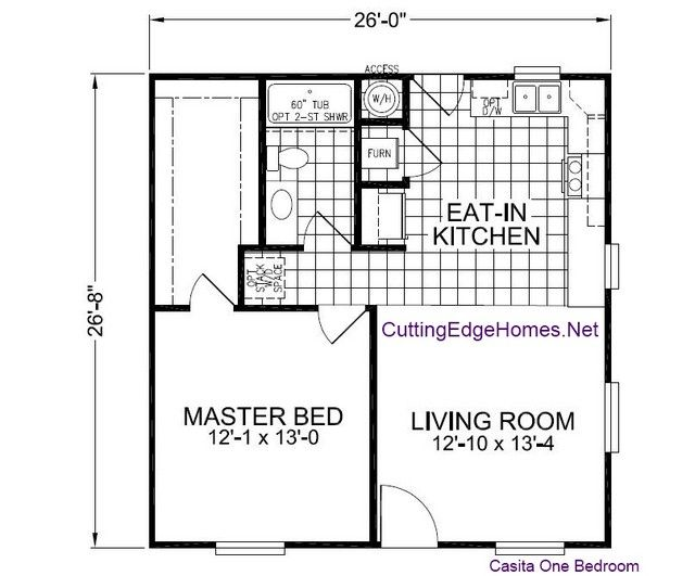 Casita 1br House Plans Pinterest Tiny Houses House