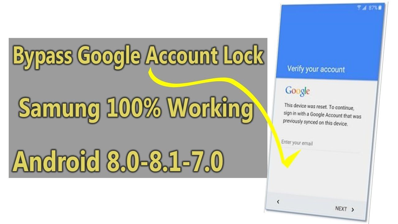 Bypass Google account lock Samsung by installing technocare apk and