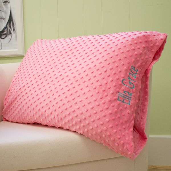 Diy Minky Pillowcase: Lolly Wolly Doodle Coral Minky Pillowcase 8 2   Lizzie Lous    ,