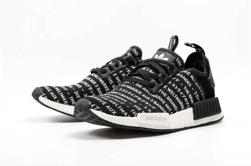official photos b0628 712eb ... switzerland adidas nmdr1 s76519 blackout adidas athleticsneakers 394c2  c687b
