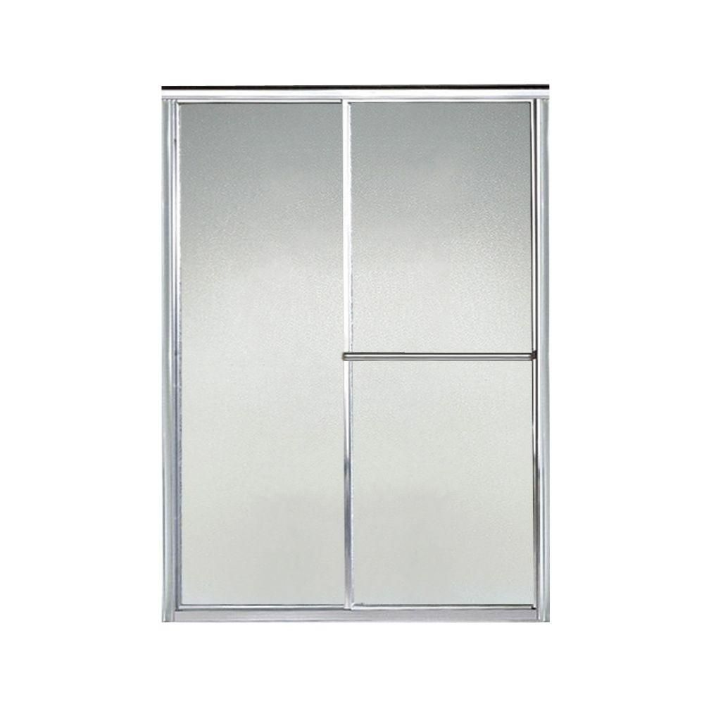 Sterling Deluxe 54 1 2 In X 65 1 2 In Framed Sliding Shower Door