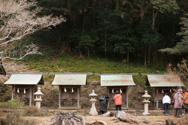 対馬国一宮 海神神社(上津八幡...