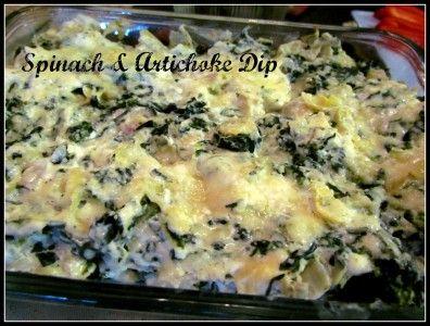 My Spinach & Artichoke Dip = delish!