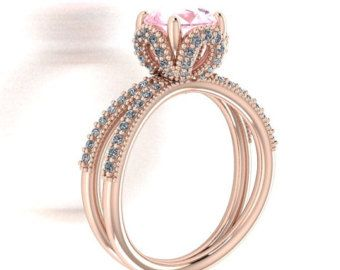 disney princess cinderella inspired rose gold ring - Disney Princess Wedding Rings